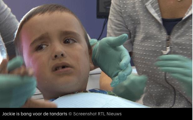 Bang voor de tandarts - slecht gebit
